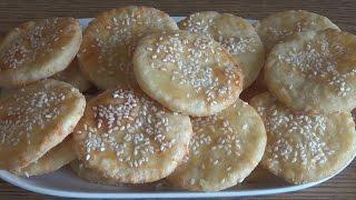 Печенье с сыром тонкое, хрустящее, соленое. Простой рецепт для начинающих #domavkusno.