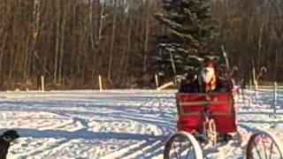 Homemade John Deere Santa Sleigh & Reindeer Part 1