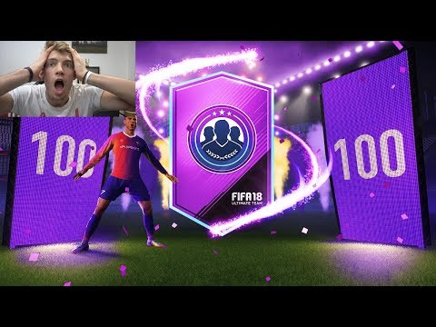 100 x 2 PLAYER SBC PACKS!!! - INSANE OVERPOWERED FIFA 18 PACK OPENING