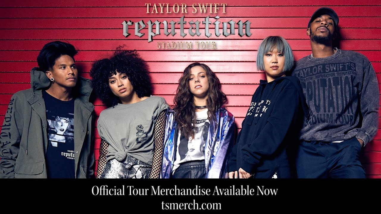 1656739e Taylor Swift reputation Stadium Tour - Official Merch - YouTube