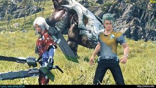 Cemu WiiU Emulator - Xenoblade Chronicles X Gameplay 4K 2160p (Cemu 1.7.1 Patreon)