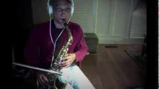 A Whole New World Sax  - Peabo Bryson & Regina Belle - (saxophone cover)