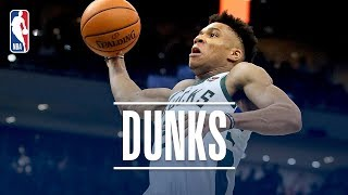 Best Of Giannis Antetokounmpo's Dunks! | 2018-19 NBA Regular Season & Playoffs