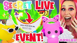 Secret *LIVE* Event In Adopt Me! Roblox Adopt Me Dress Your Pets LIVE EVENT Update