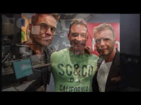 Robbie Williams, Gary Barlow and Take That