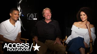 'Game Of Thrones': Jacob Anderson, Iain Glen & Nathalie Emmanuel On The Show's Success