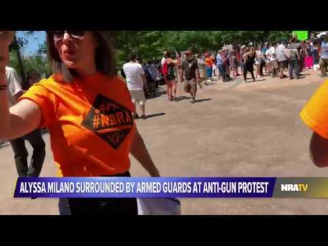 NRATV Exposes Alyssa Milano's AntiGun Hypocrisy