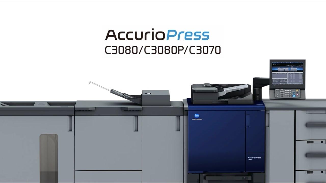 Introducing the AccurioPress C3080/ 3080P/ 3070