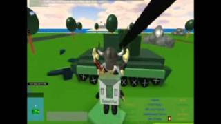 Base Wars: The Land Old video clip 2 (Roblox Games Design/Demonstration)
