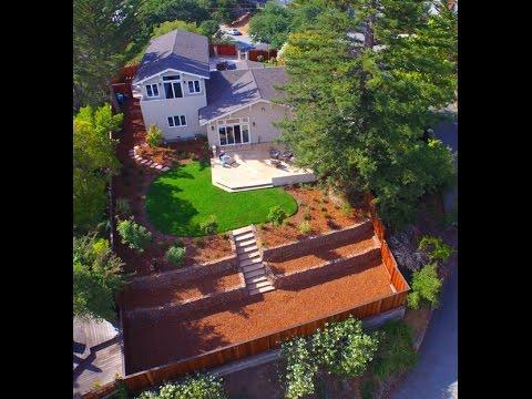281 Dartmouth Ave San Carlos, CA by Douglas Thron drone real estate vitual tour videos