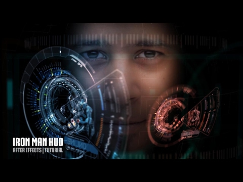 IRON MAN HUD After Effects Tutorial