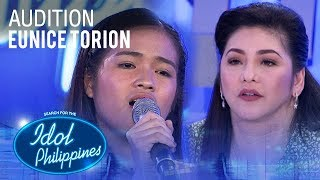 Eunice Torion Kahit Ayaw Mo Na Idol Philippines Auditions 2019.mp3