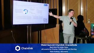 Chainlink Web3 Summit OracleNode: eth.events for Oracles, Dashboards and Alerting