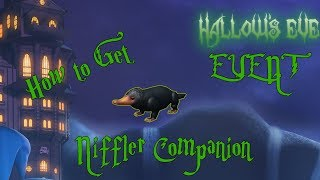 How to Get the Niffler Companion - ROBLOX HALLOWS EVE EVENT (Escape Room)