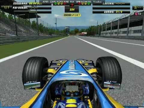 F1 2006 Monza hotlap 1.25.802