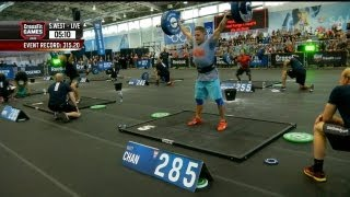 CrossFit - South West Regional Live Footage: Men's Events 2 and 3