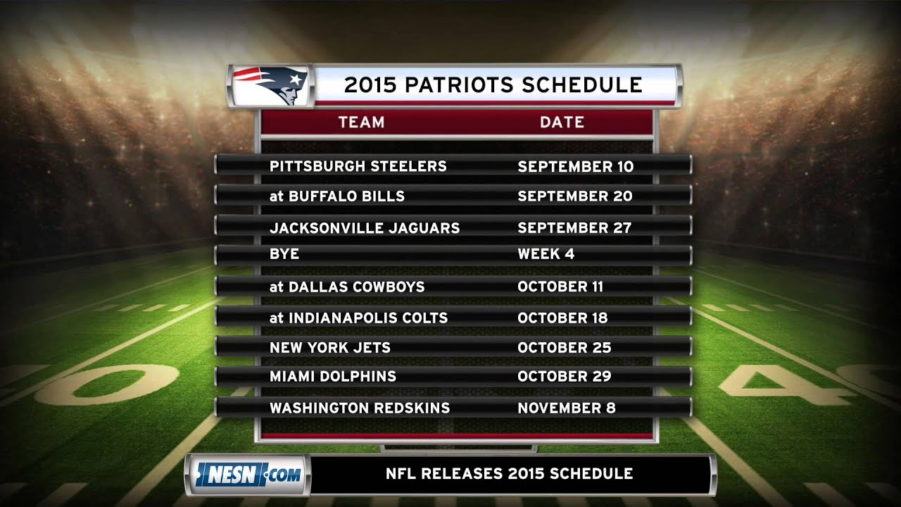 patriots 2015 schedule darrelle revis might not be needed after all