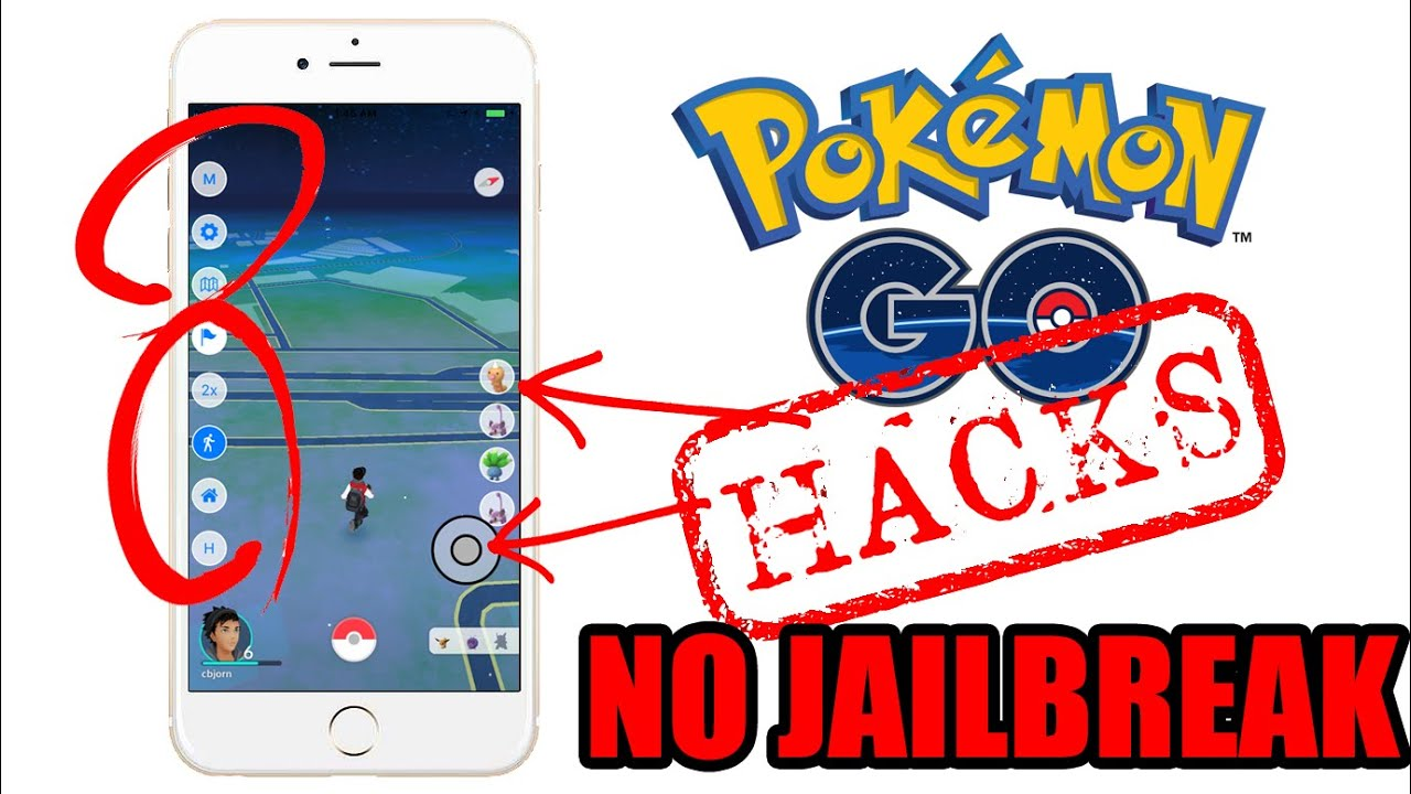 Pokemon Go Hacked version for iOS 9 and 10 - No Jailbreak No