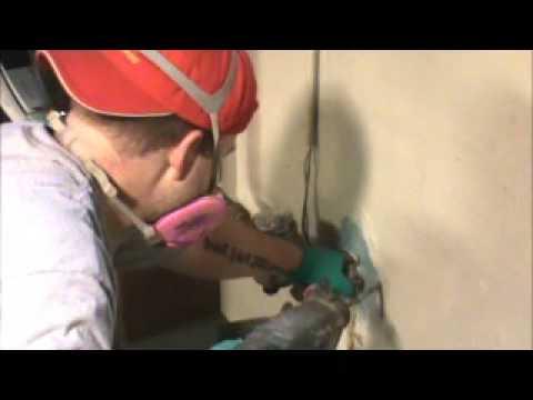 crack injection basement repair staydry michigan basement