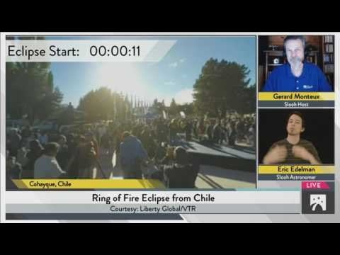 The Southern Ring of Fire Eclipse