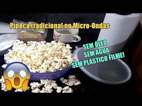 COMO FAZER PIPOCA TRADICIONAL NO MICROONDAS SEM ÓLEO E SEM ÁGUA | Como Fazer Fácil #Receitas 1