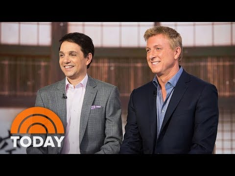 'Karate Kid' Sequel 'Cobra Kai' Reunites Ralph Macchio And William Zabka | TODAY