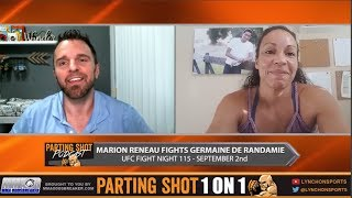 UFC Fight Night 115's Marion Reneau talks Germaine de Randamie & training w/ Cris Cyborg
