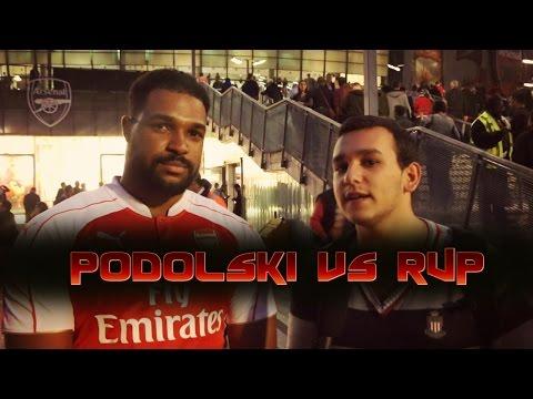Lukas Podolski vs Robin Van Persie (Arsenal Taraftarlarına Sorduk!)