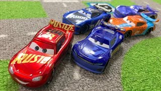 [ Summary ] Disney Pixar Cars 3 : Race : Lightning McQueen VS Next-generation