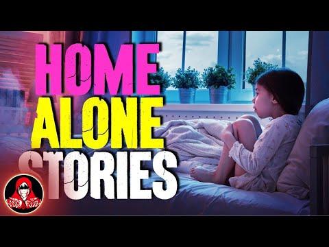 4 TRUE Creepy Home Alone Stories