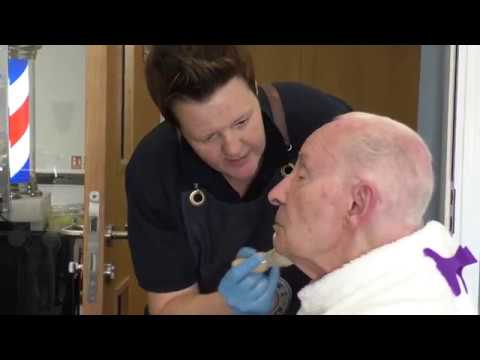 Memory Lane Barbers Offers Nostalgia Haircuts In Care Homes