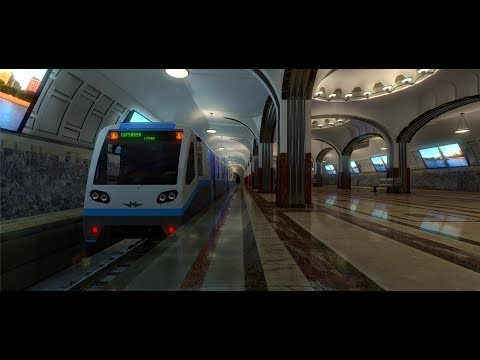 Unity 5 - 3D Model of Moscow Metrostation