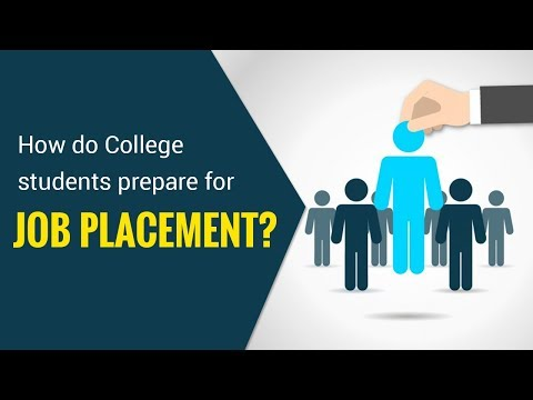 How do College students prepare for job placement? thumbnail