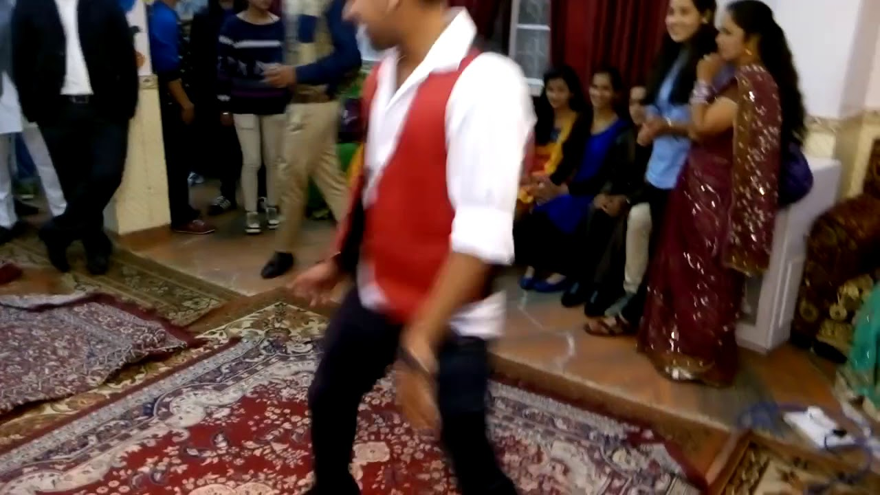 Cool Wedding Dance On BLUE Eyes Song