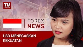 InstaForex tv news: USD memukau dengan kinerja yang kuat  (28.09.2018)