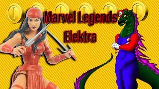 Marvel Legends Elektra Review