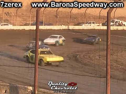 Pony Stock Heat 1 Barona Speedway 9-9-2017
