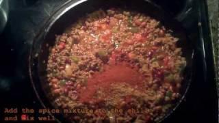 Greg's Chili Recipe