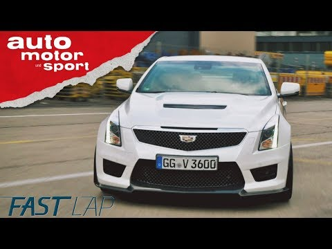 Cadillac ATS-V: America first... or last? - Fast Lap | auto motor und sport