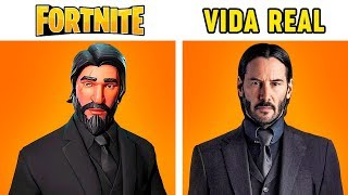 10 Personagens de Fortnite na Vida Real