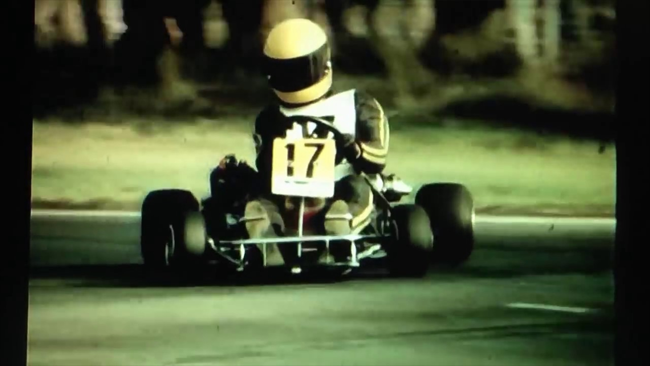 Ayrton Senna - Karting on the edge (4K) - YouTube