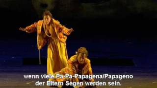 Mozart-Die Zauberflöte/il flauto magico-Papagena/Papageno