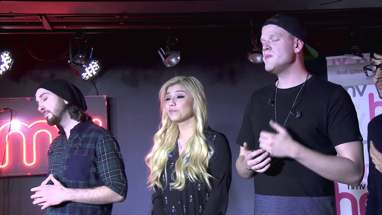 Pentatonix- That's Christmas to Me (live at the hmv underground ...