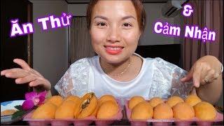🇯🇵Ăn Thử Trái Lạ Biwa Nhật Bản - Biwa Japanese Fruit - Trái Nhót Nhật #249