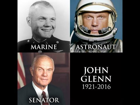 USMC John Glenn. Marine, Astronaut, US Senator and Freemason.