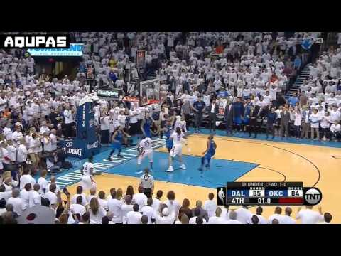 Oklahoma city Thunder Steven Adams GAME WINNING PUTBACK DOESN'T COUNT |Game 2 highlight vs Mavericks