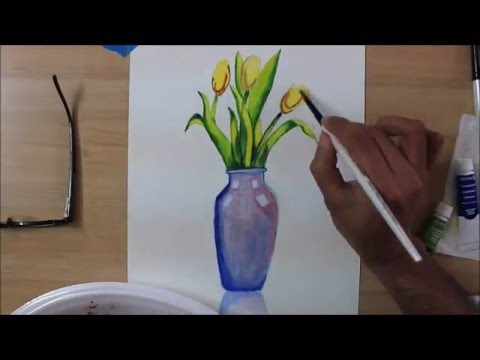 How to draw Tulips on a vase - YouTube Easy Flower Vase To Draw Html on easy to draw pottery, easy to draw flower baskets, easy to draw pillows, easy to draw cosmetics, easy to draw hats, easy to draw dolls, easy to draw balloons, easy to draw markers, easy to draw frames, easy to draw decorations, easy to draw fruit baskets, easy to draw potted plants, easy to draw barrels, easy to draw cups, easy to draw books,
