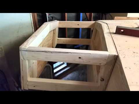 DIY Building an Outboard Transom Pod/Bracket for my 22' Wooden Boat (1 of 3)
