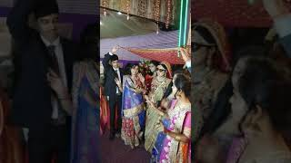 Dancing Bride....Entry. With her cousins.