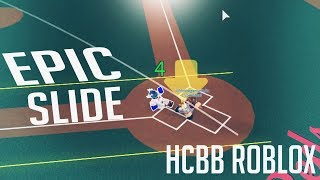 EPIC SLIDE! [HCBB ROBLOX]